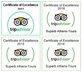 TripAdvisor Cetrificates of Excellence