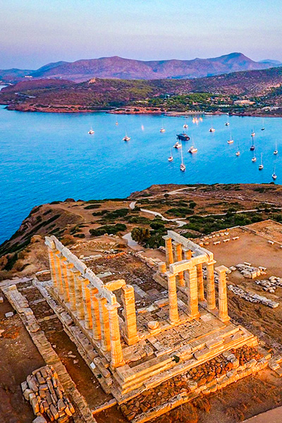 Cape Sounion Half Day Private Tour